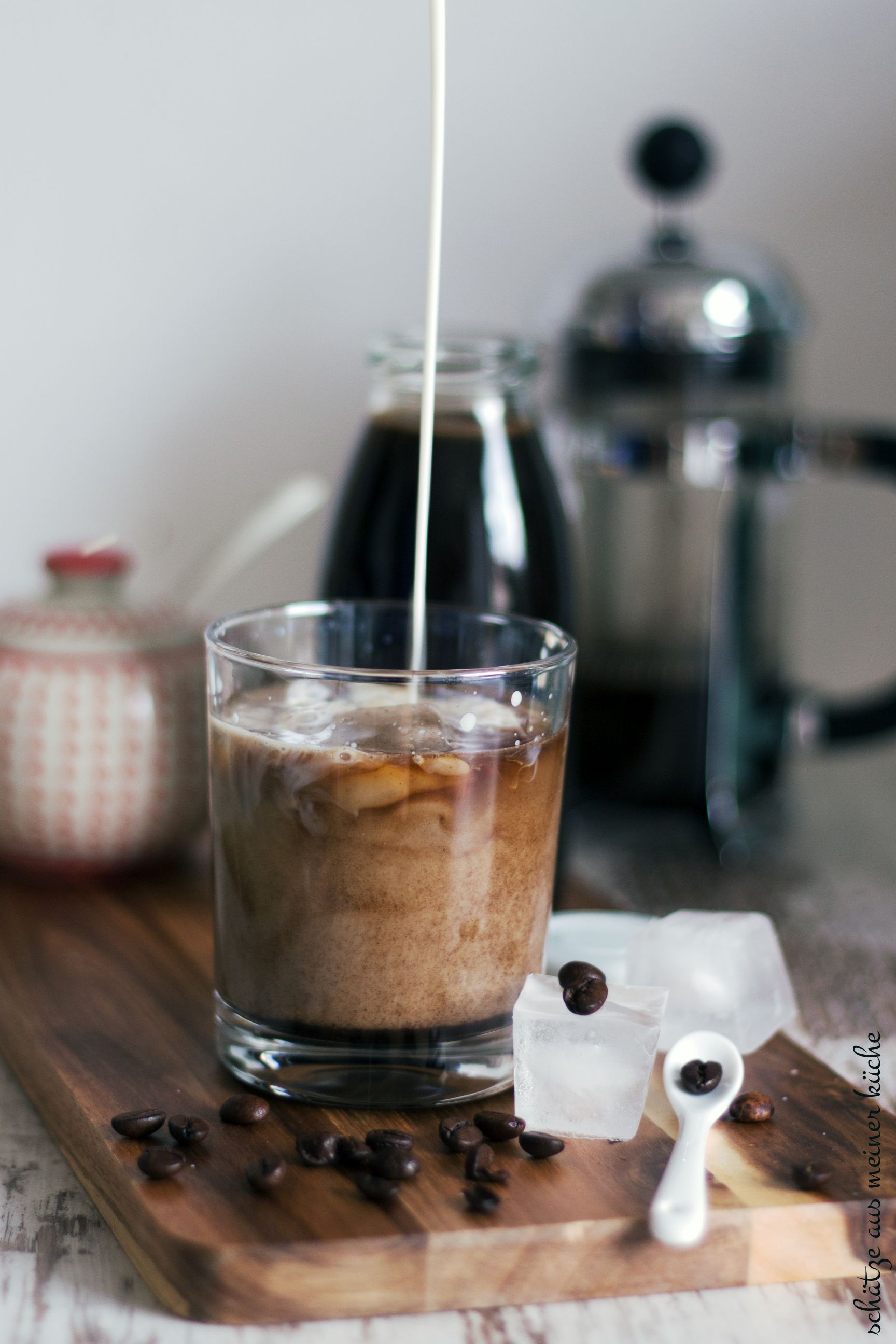Iced Coffee mit Cold Brew