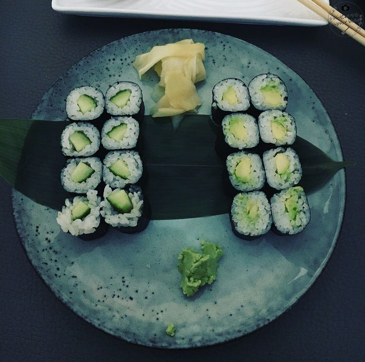 Sticks'n'Sushi Sushi Kappa Avocado Maki Vegetarisch Berlin