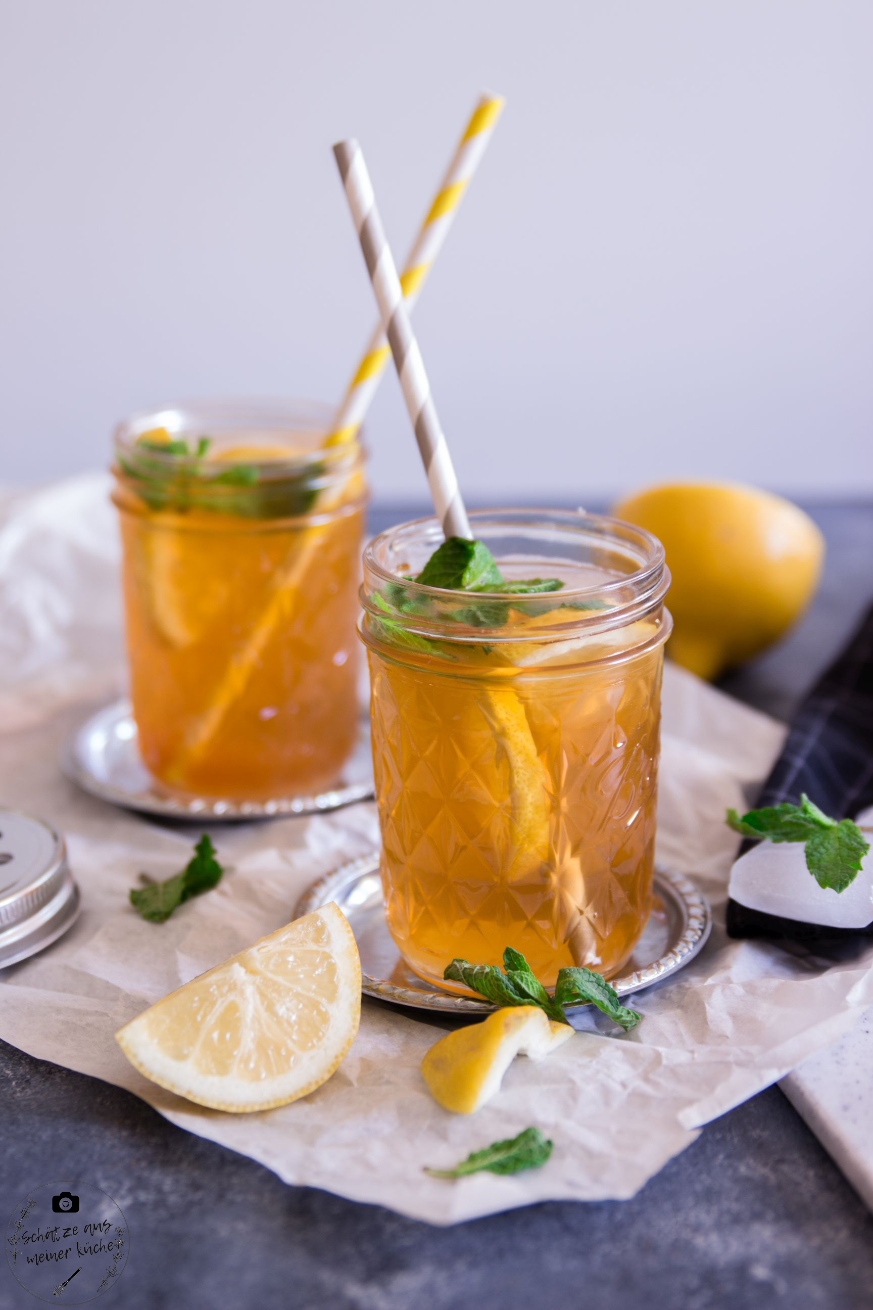 Black Ice Tea Lemon