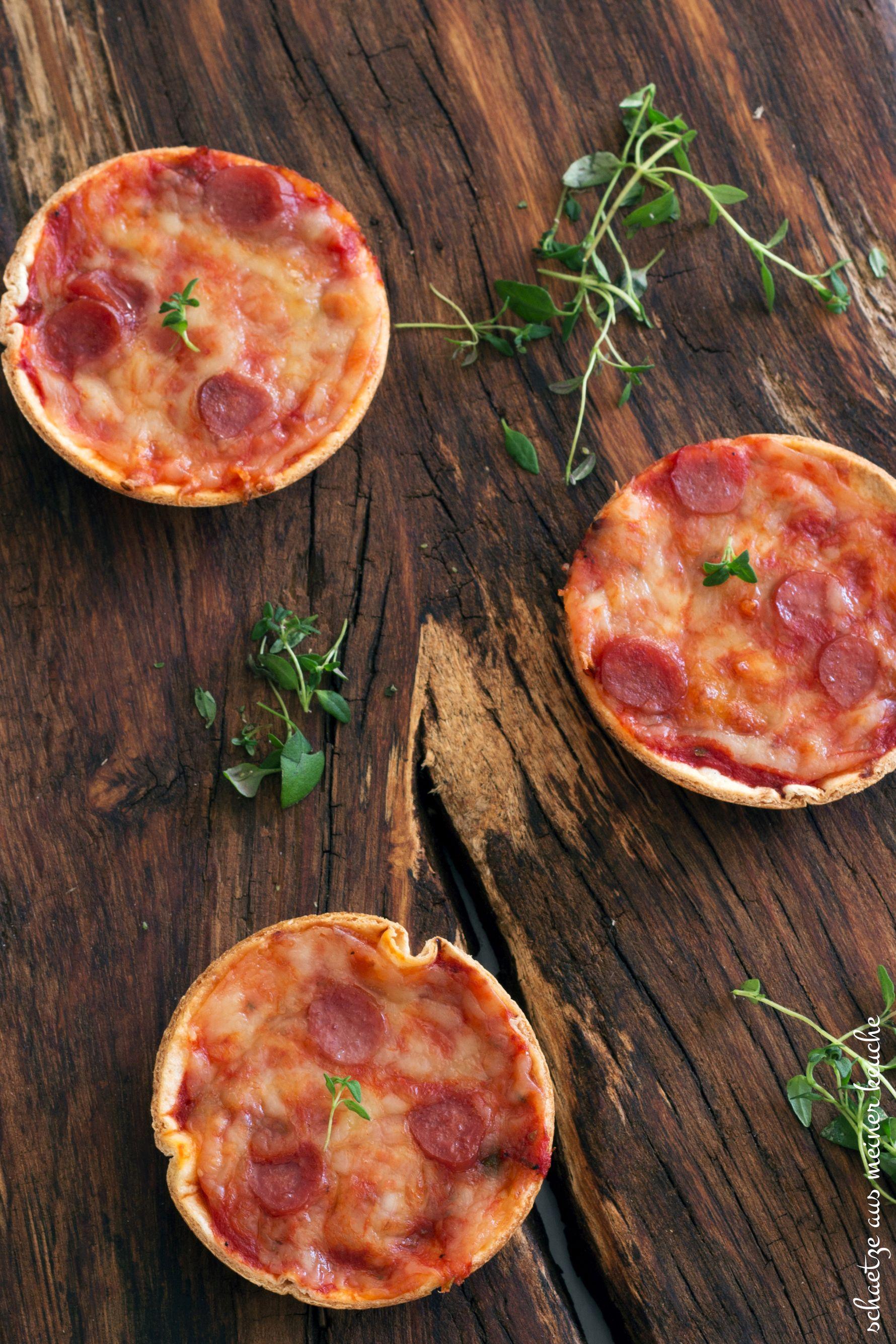 Mini Torilla-Pizzen