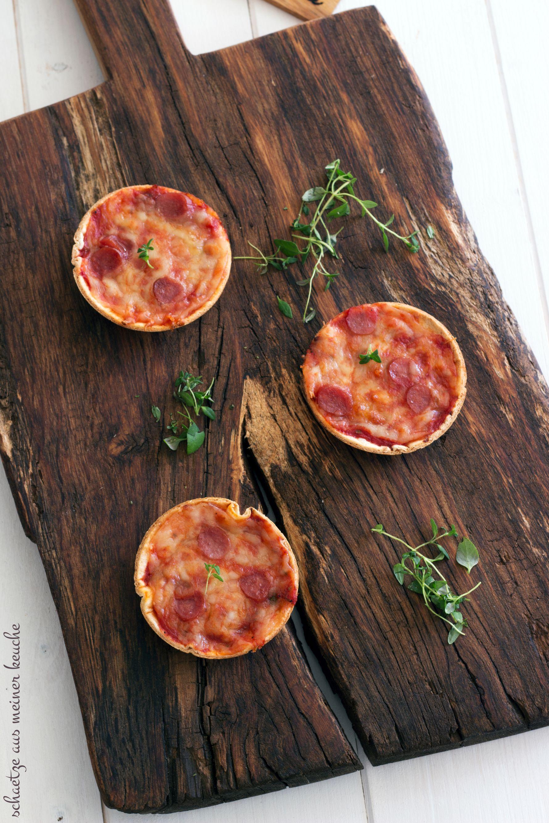 Mini Tortilla-Pizzen