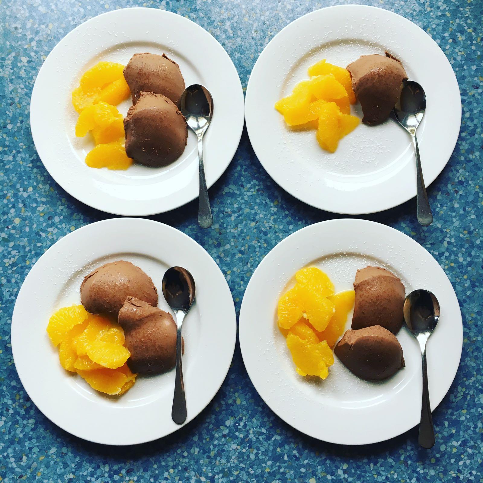 Schokoladen Panna Cotta