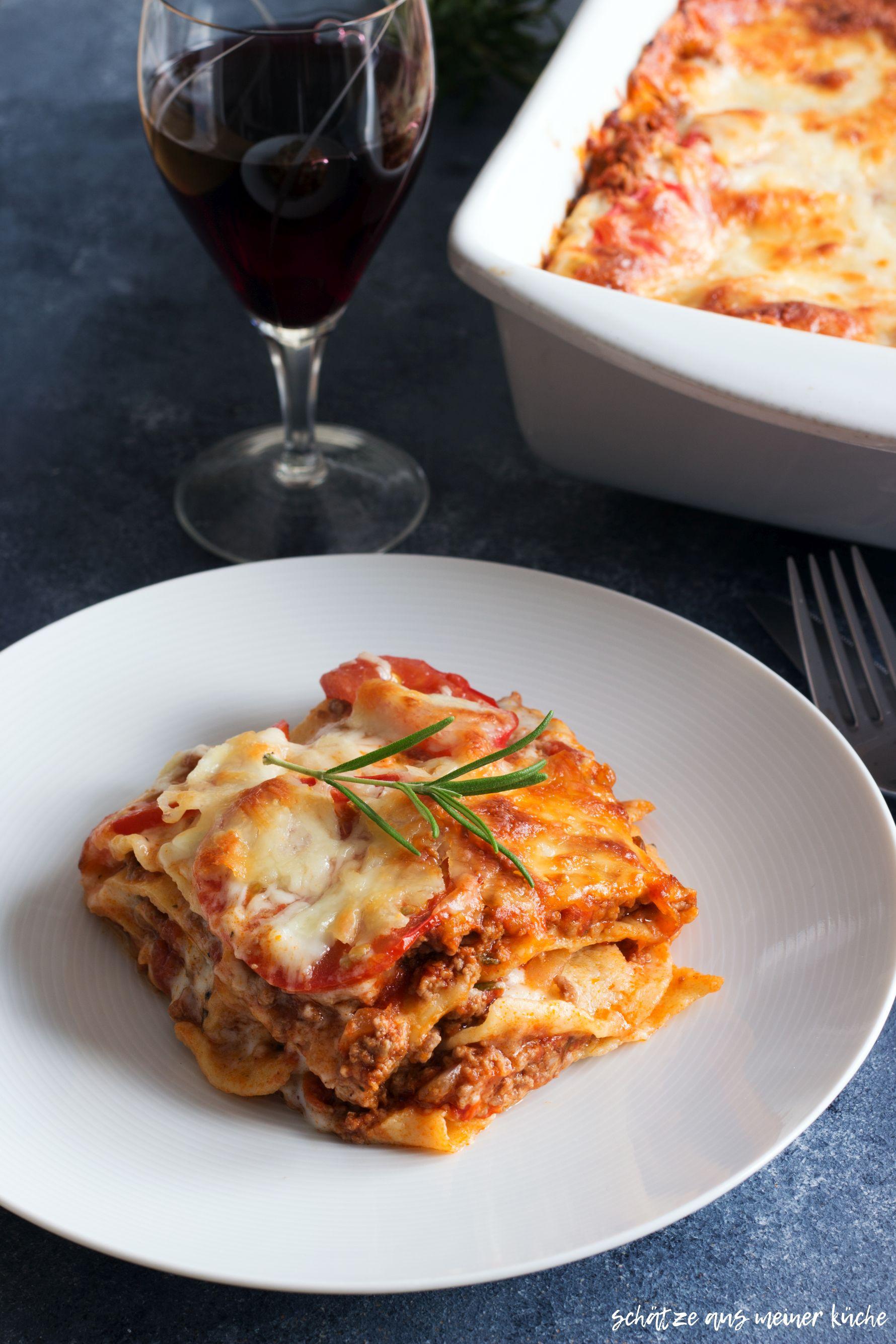 Lasagne al forno hausgemacht