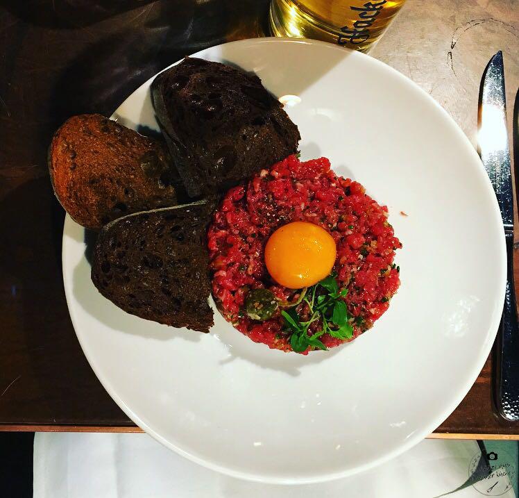 La Bohème Schwabing Beef Tatar Vorspeise
