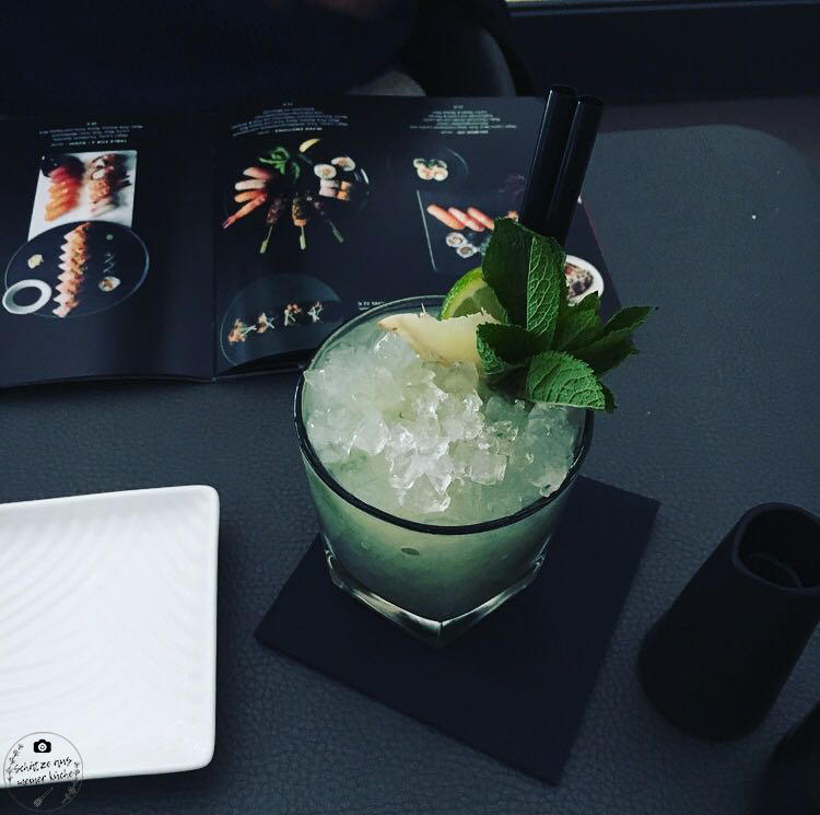 Sticks'n'Sushi Drink Japanisch Cocktail Minze Getränk Berlin