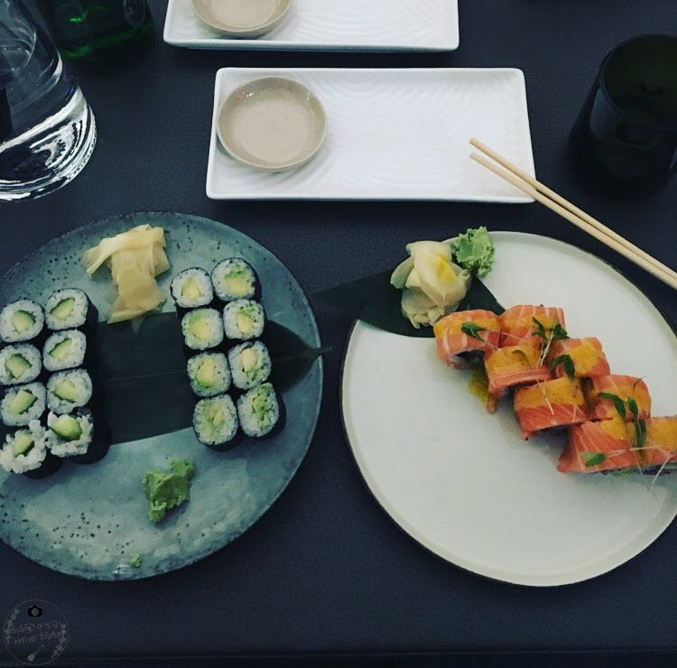 Sticks'n'Sushi Sushi Salmon Ceviche Lachs Koriander Zitrone Fisch Berlin