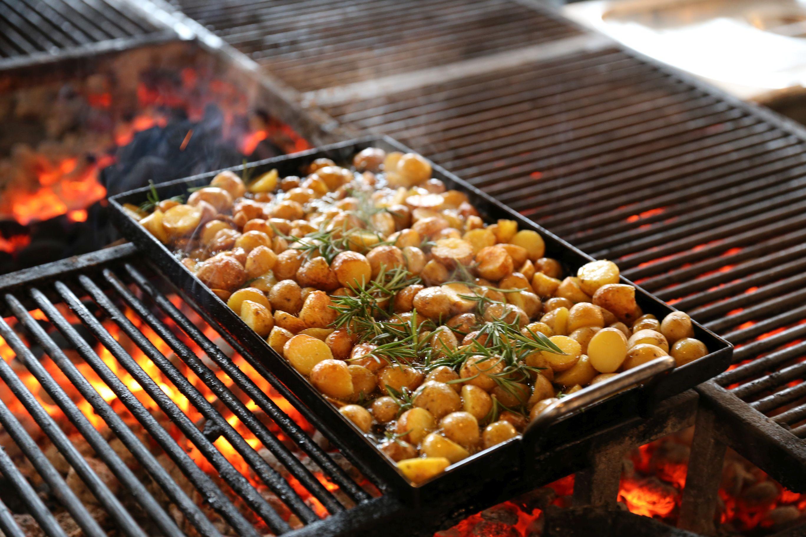 Brenner Restaurant Grill Rosmarinkartoffeln