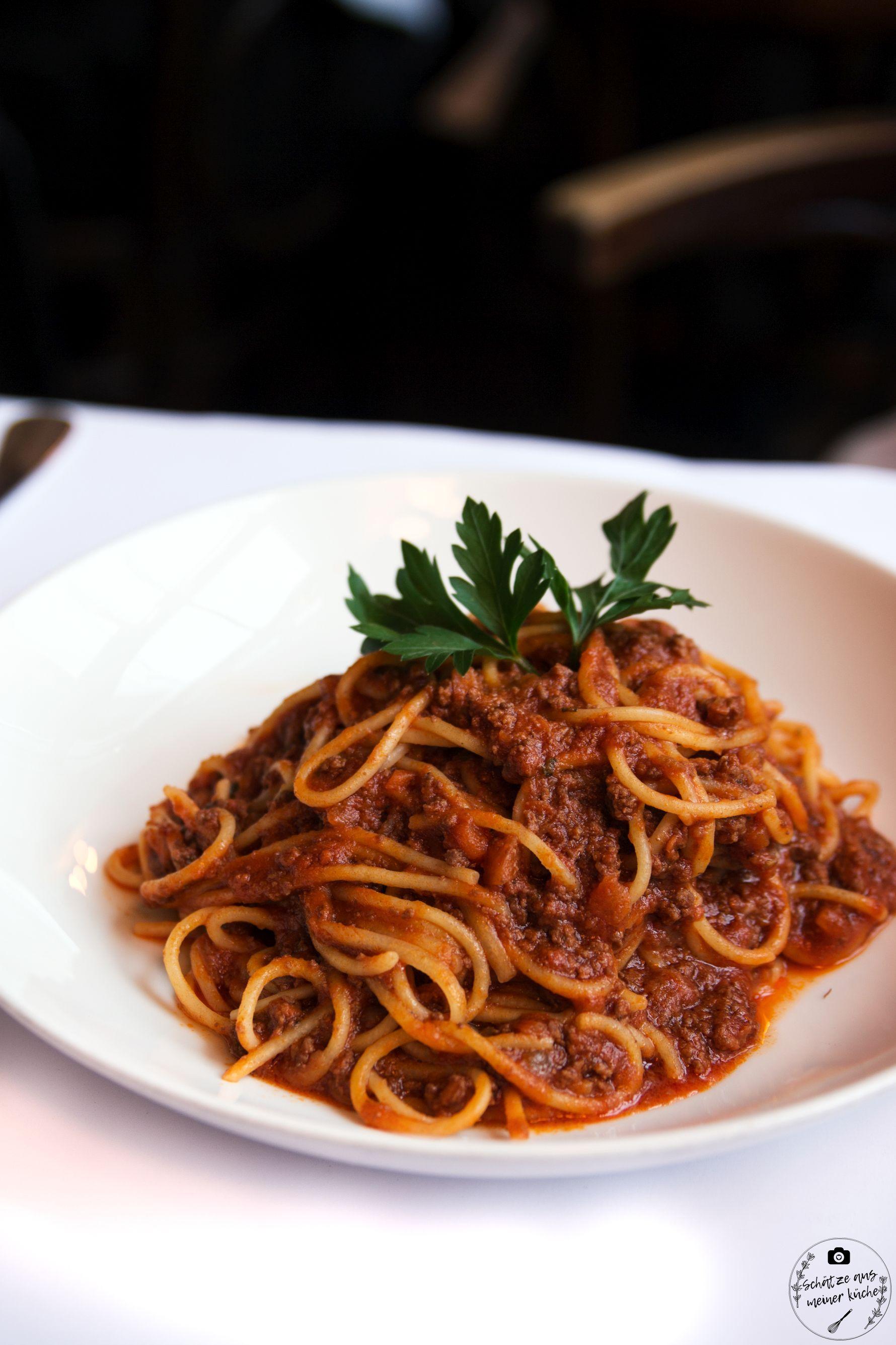 Spaghetti Bolognese Brenner Restaurant Pasta Grill München