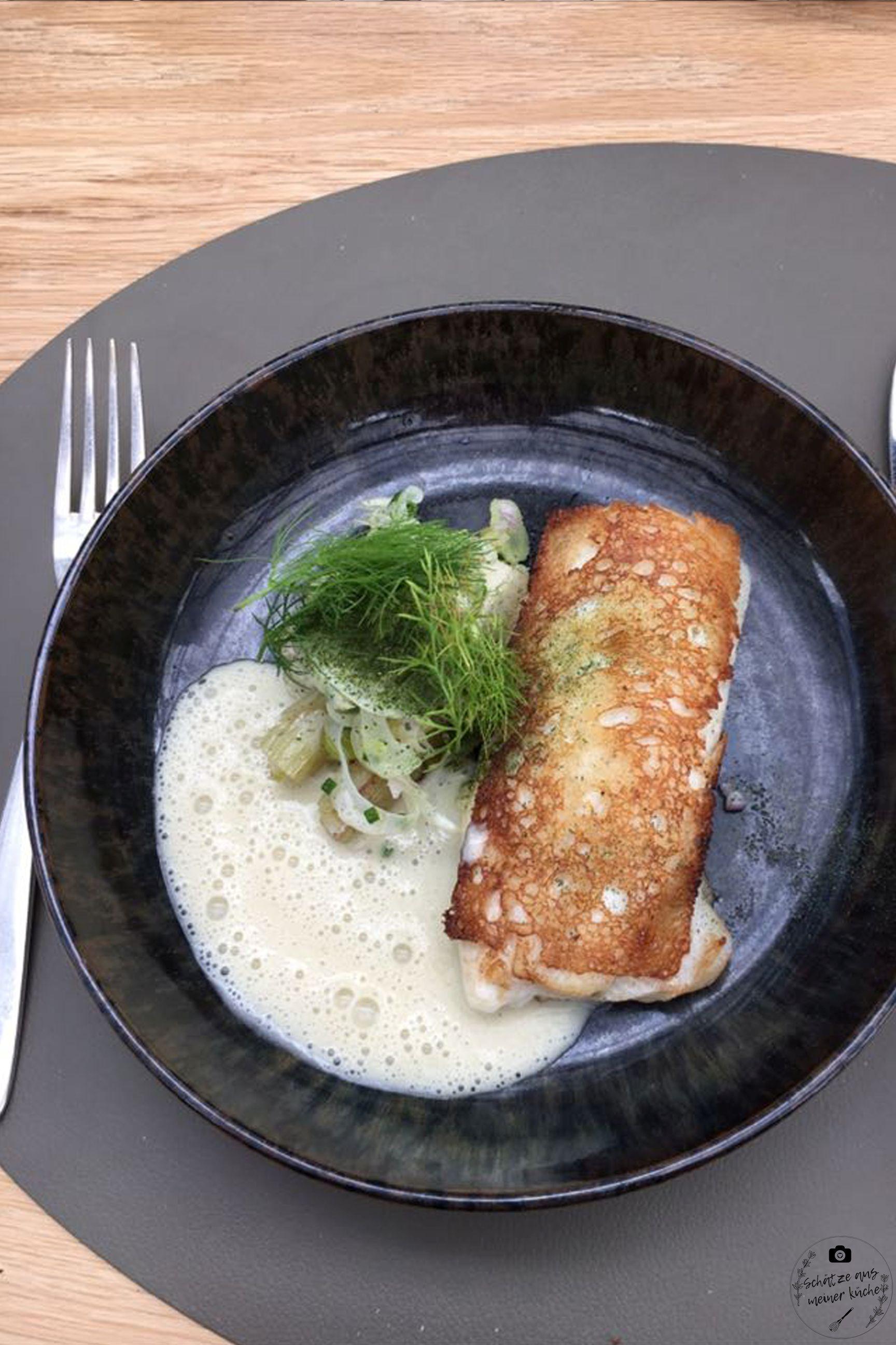 Fisch De Kas Restaurant Gewächshaus Amsterdam Lunch Menü
