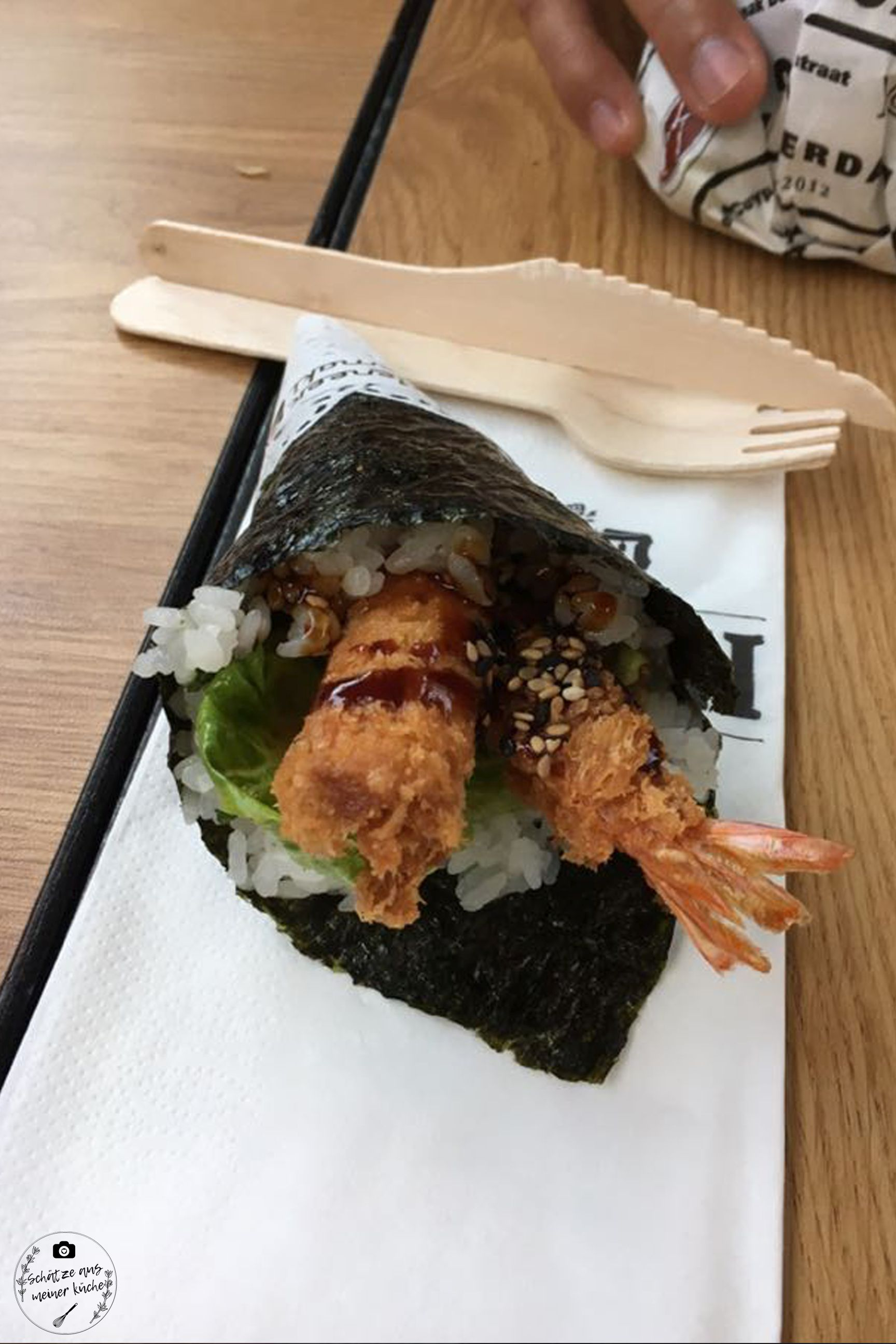 Meneer Temaki Foodhallen Sushi