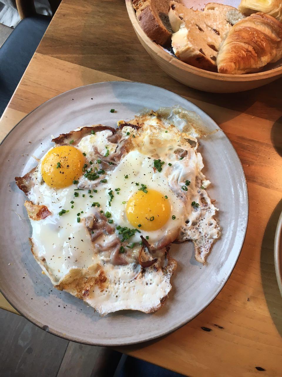 Wiesergut Frühstück Spiegelei Restaurant
