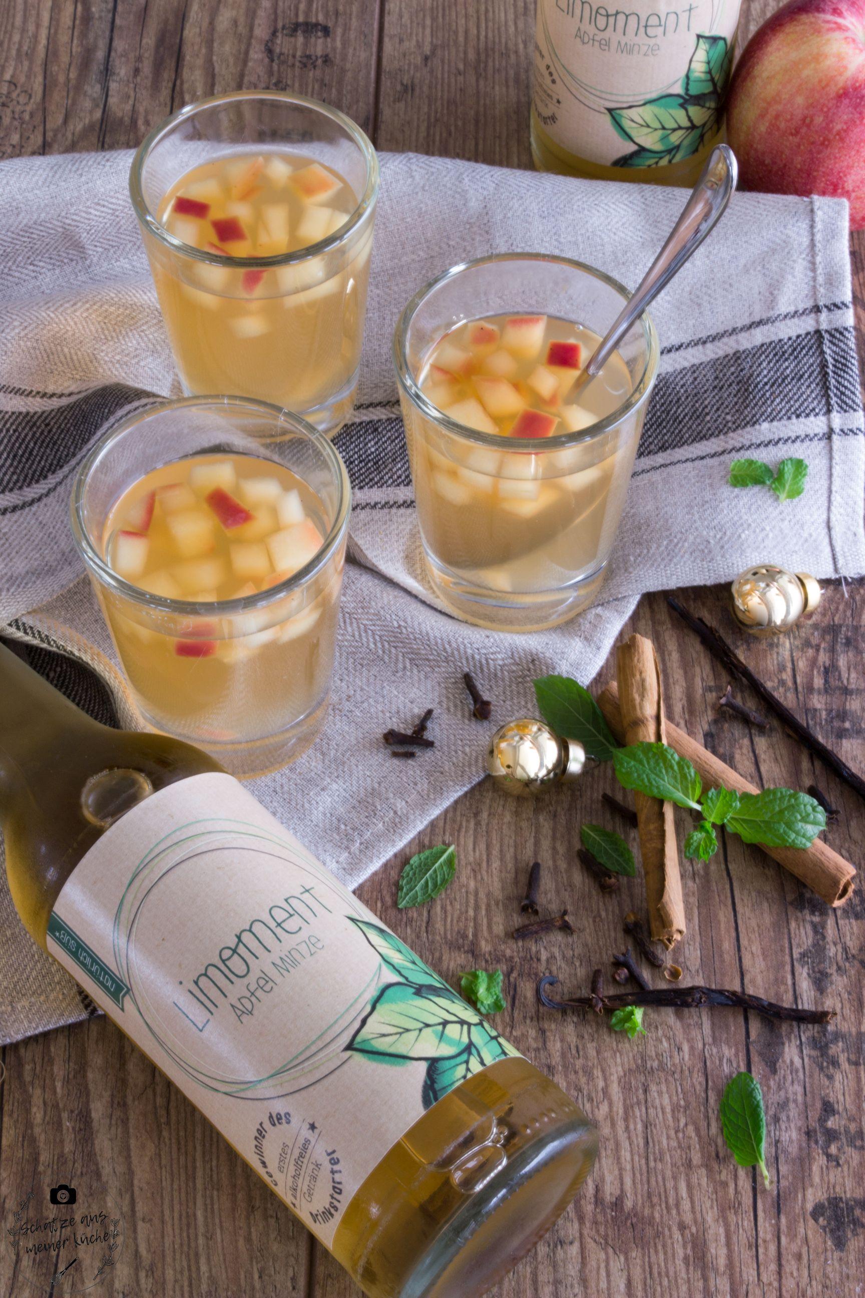 Limoment Apfel-Minze-Limonade Apfelpunsch