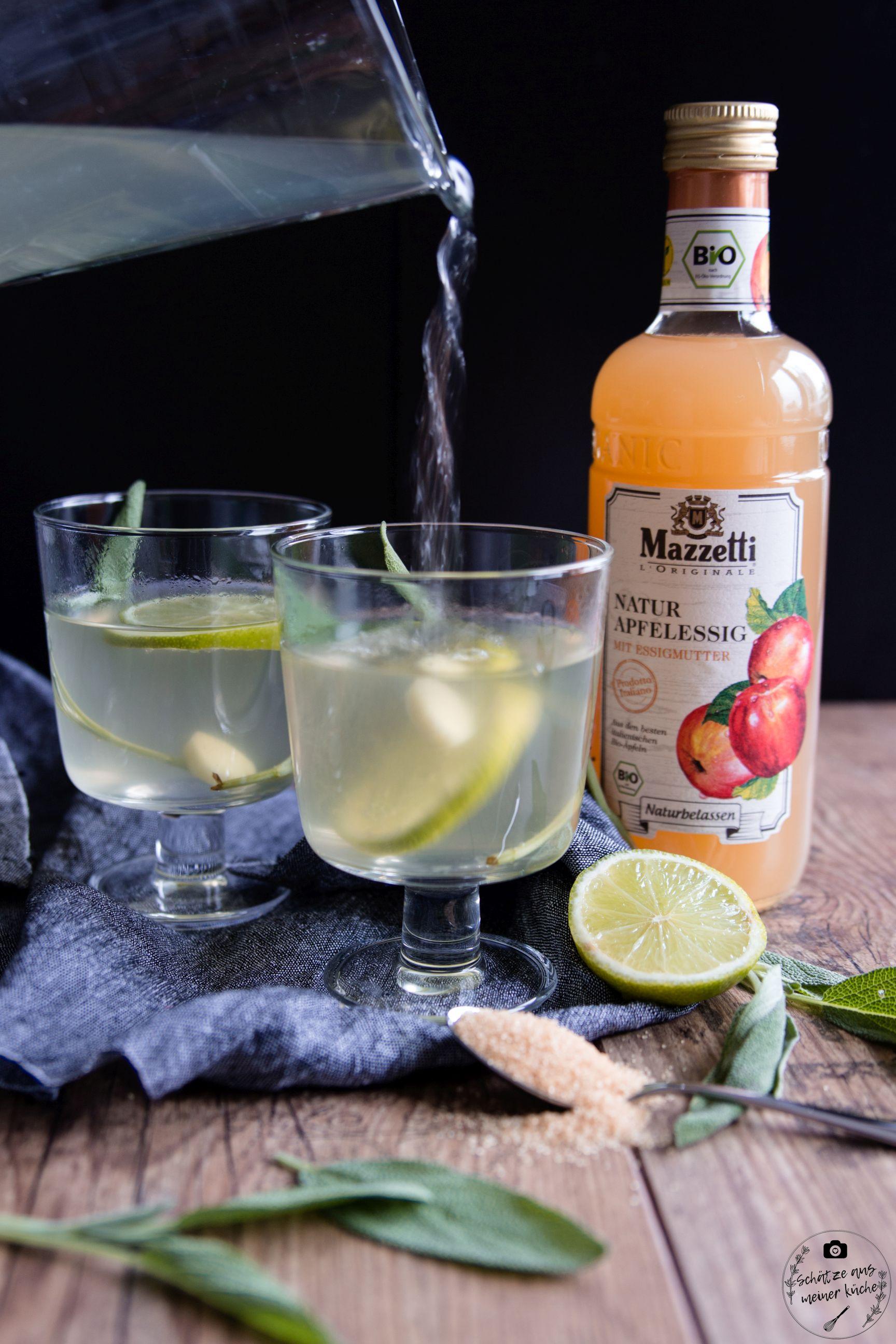 Ginger-Sage-Tea mit Apfelessig Mazzetti l'Originale