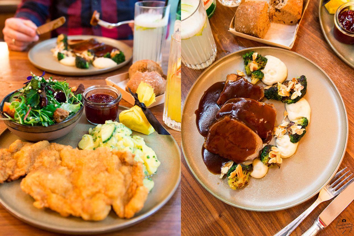 Schwarzreiter Tagesbar Wiener Schnitzel und Kalbsschulter