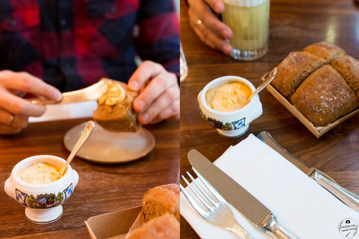 Schwarzreiter Tagesbar Obatzda und hausgebackenes Brot