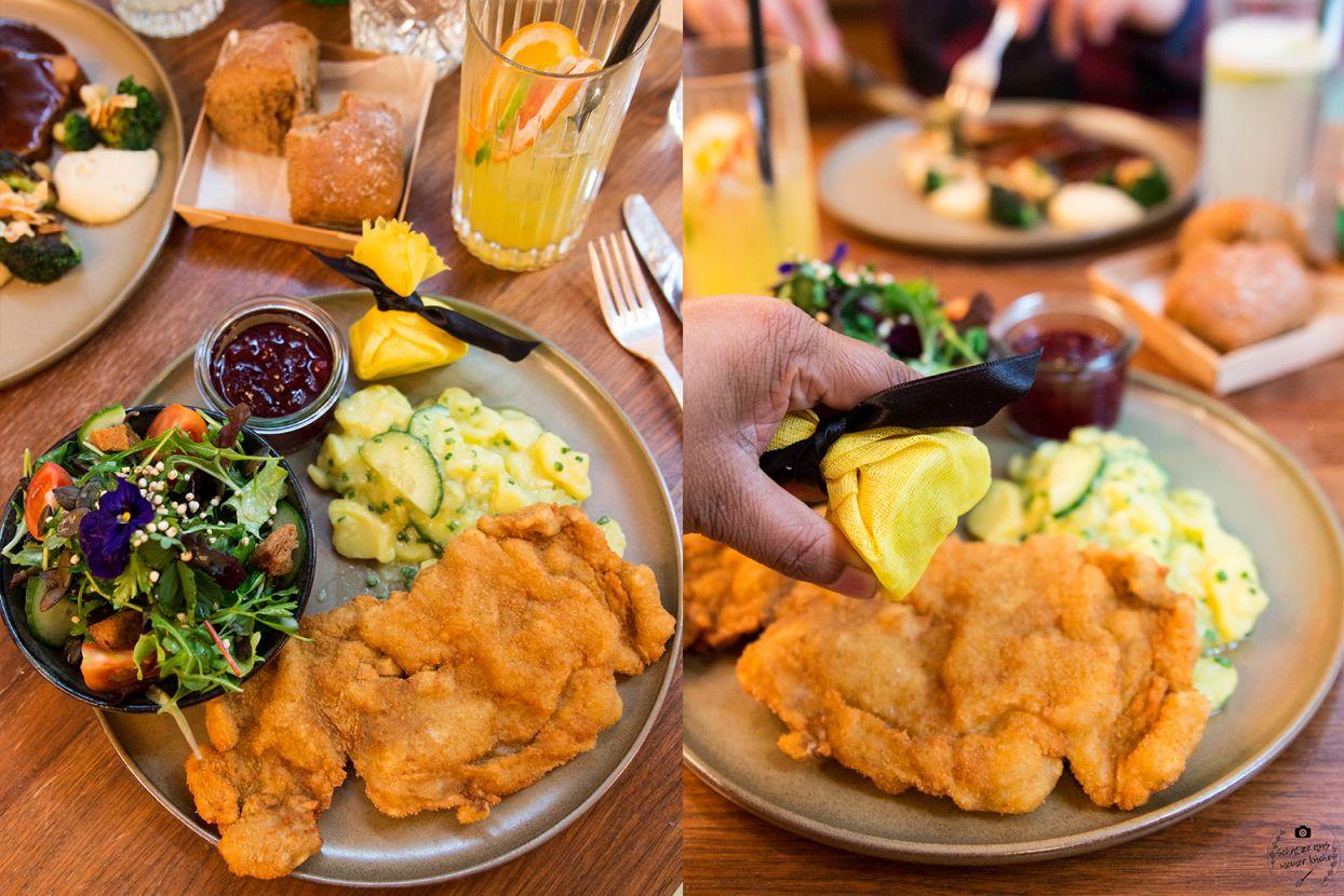 Schwarzreiter Tagesbar Wiener Schnitzel Daily Dish