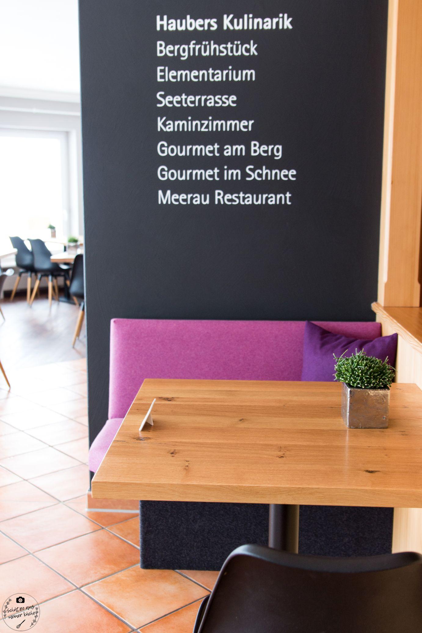 Kulinarik Haubers Naturresort