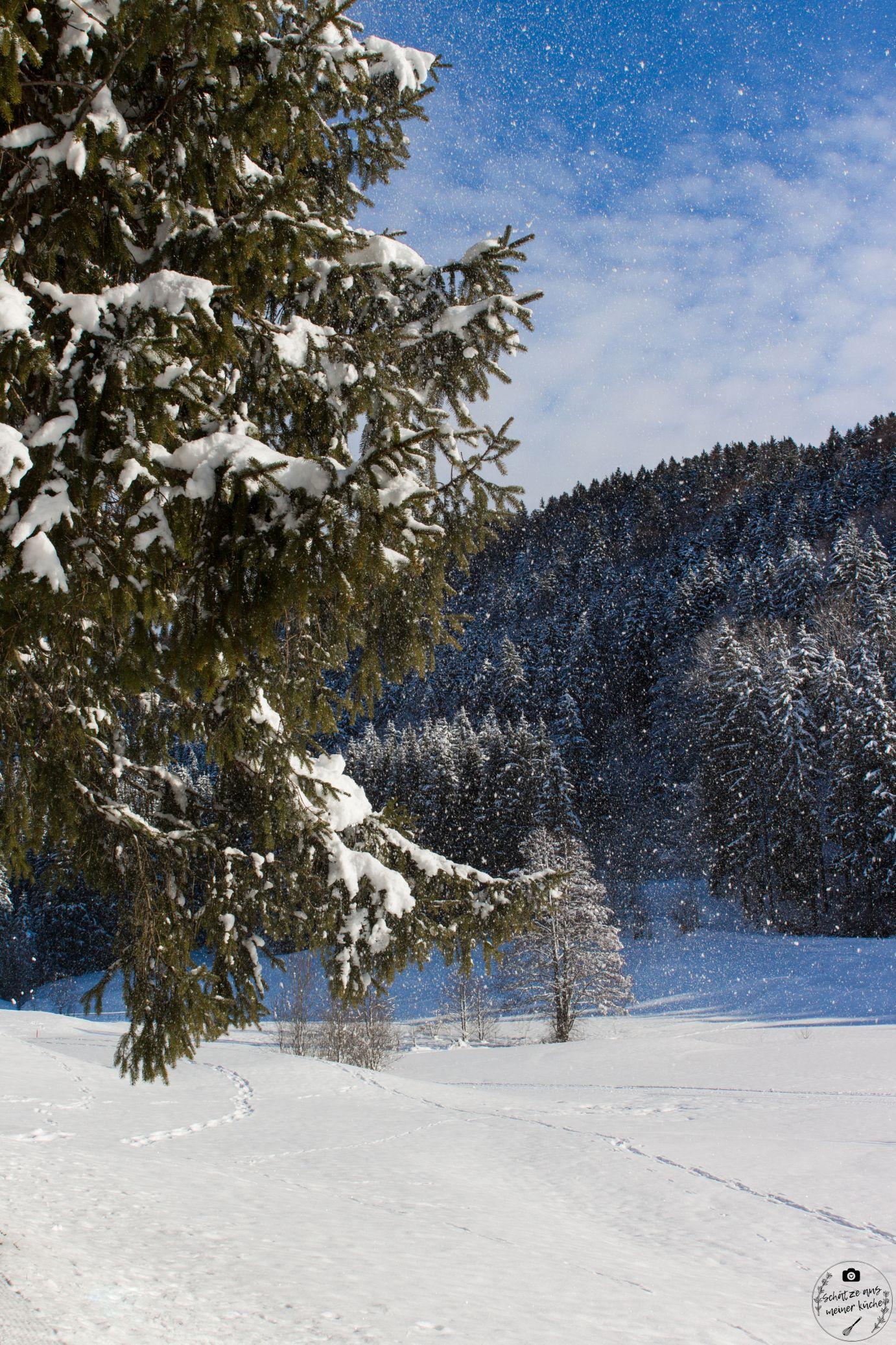 Wellness im Schnee Haubers Naturresort im Allgäu
