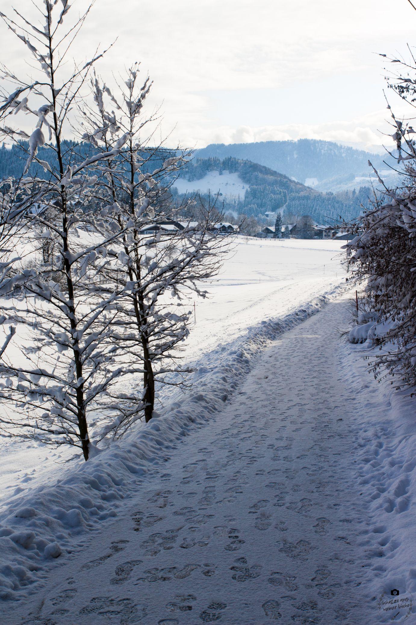 Wellness im Schnee Klimapfad Haubers Naturresort