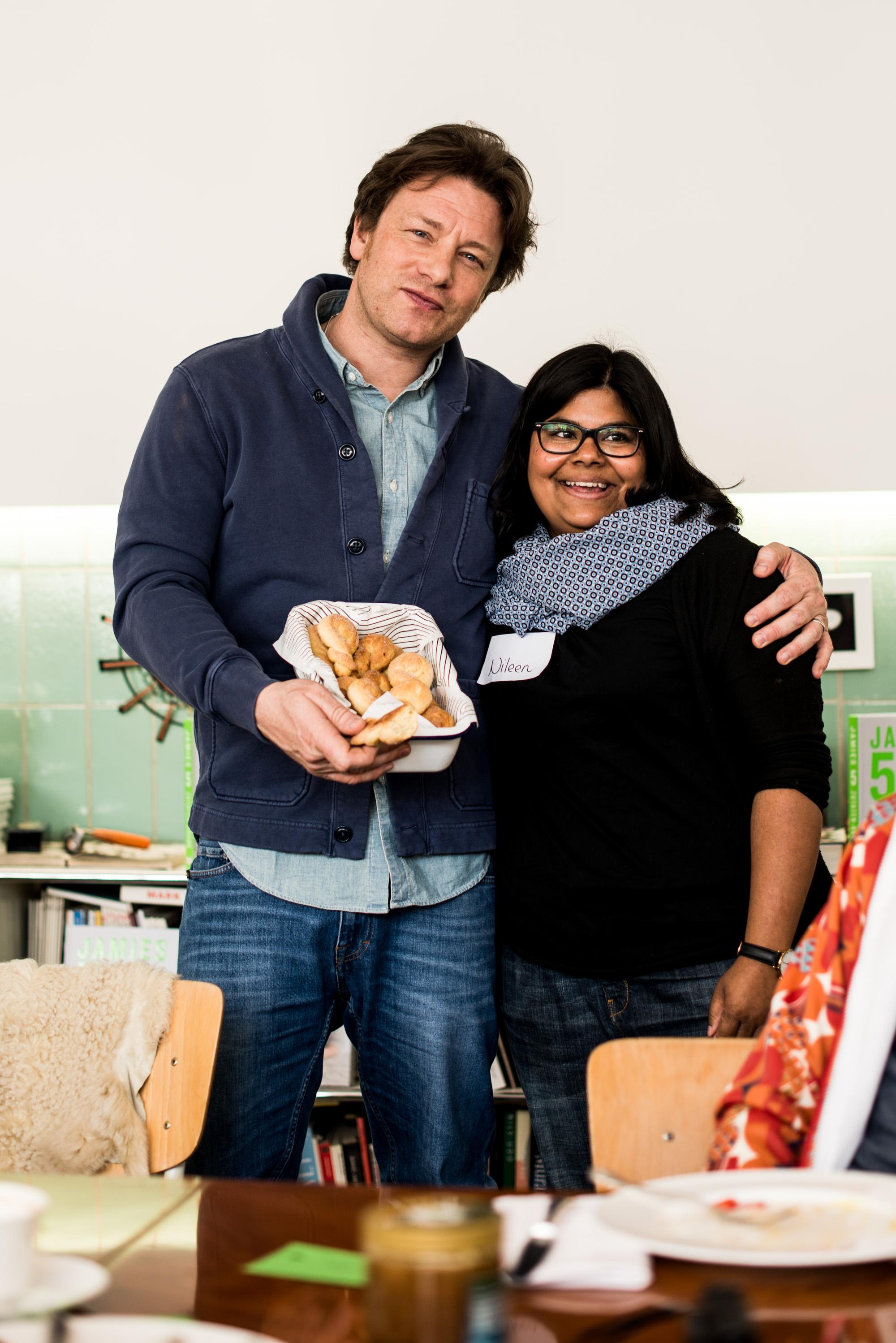 Schwäbische Flachswickel für Jamie Oliver