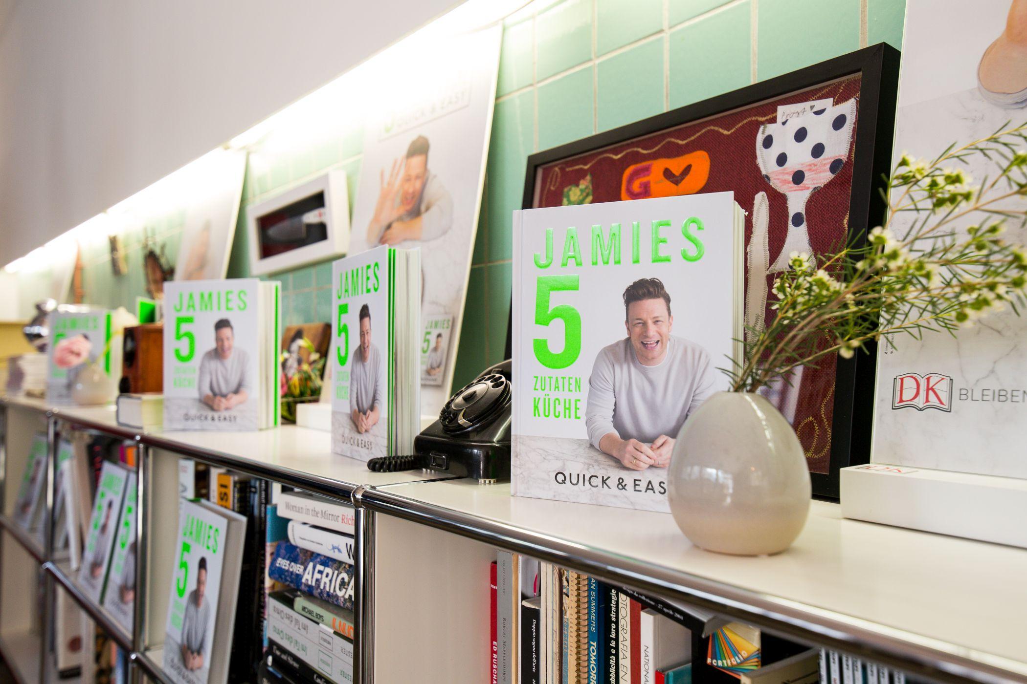 Jamie Oliver Frühstück München 5 Zutaten Küche